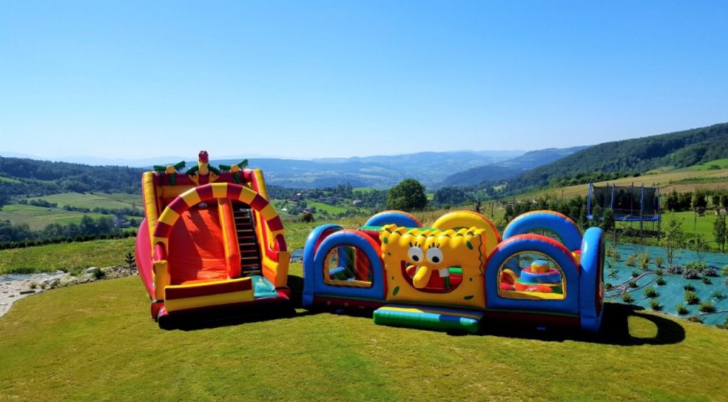 Inflatables castle and bungee trampolines for rent