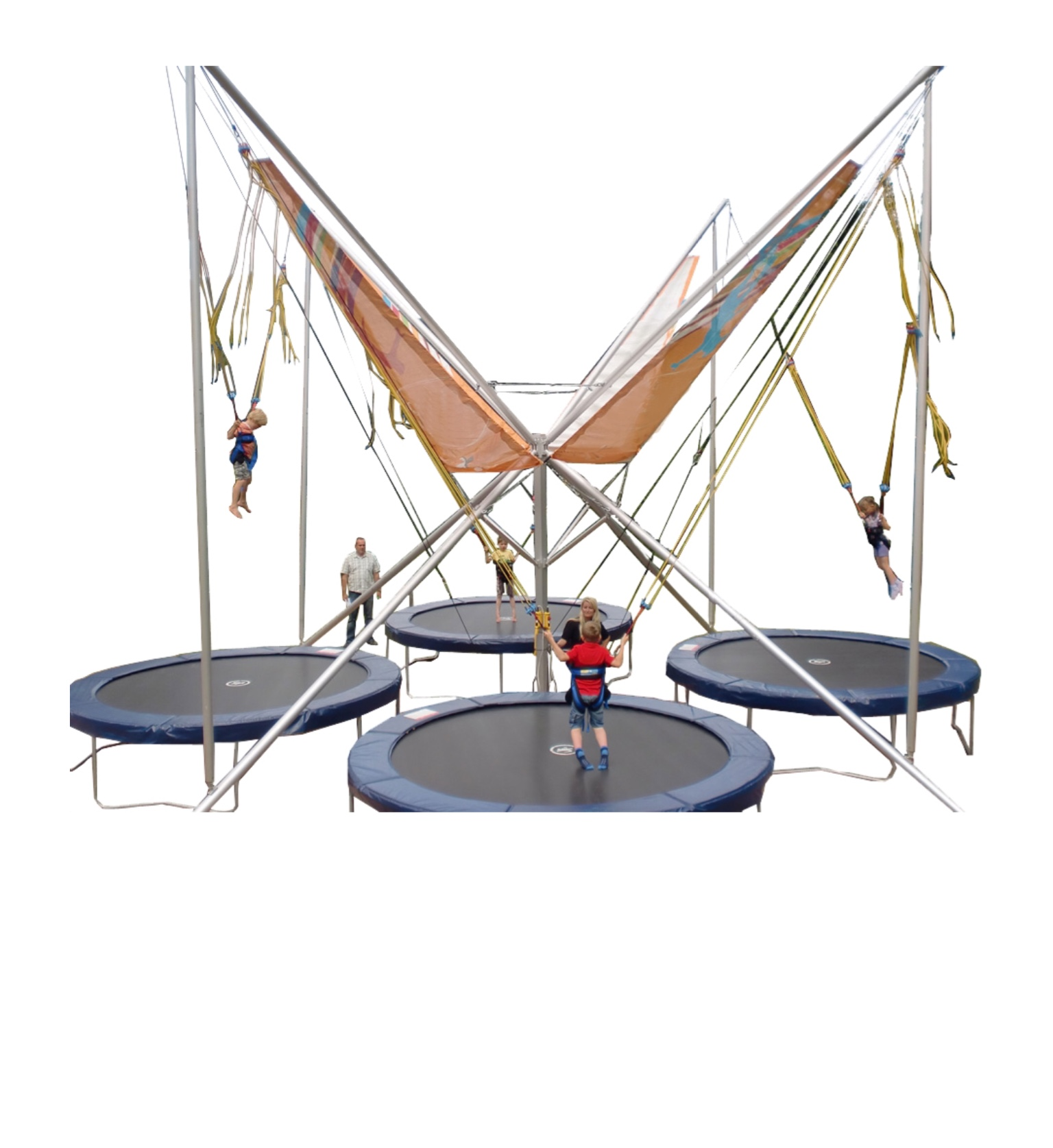 Professional euro bungee 4-seat park version