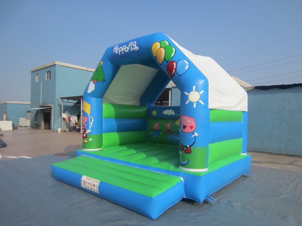 Peppa bouncy castle