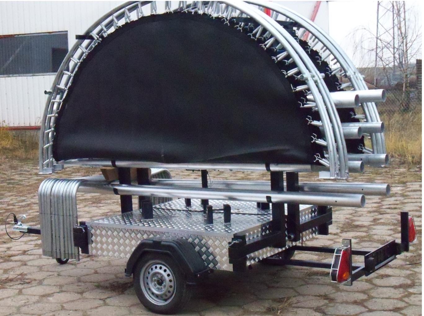 Mobile trampoline